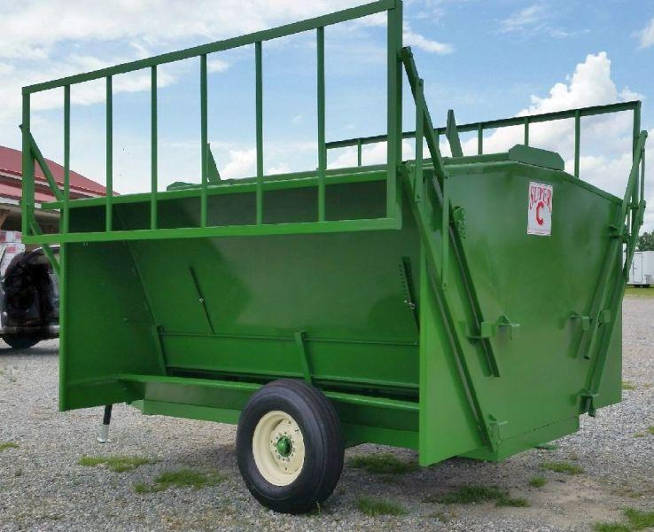 20 ft Super C New Hay Feeder w/Flotation Tires (SCH5217)